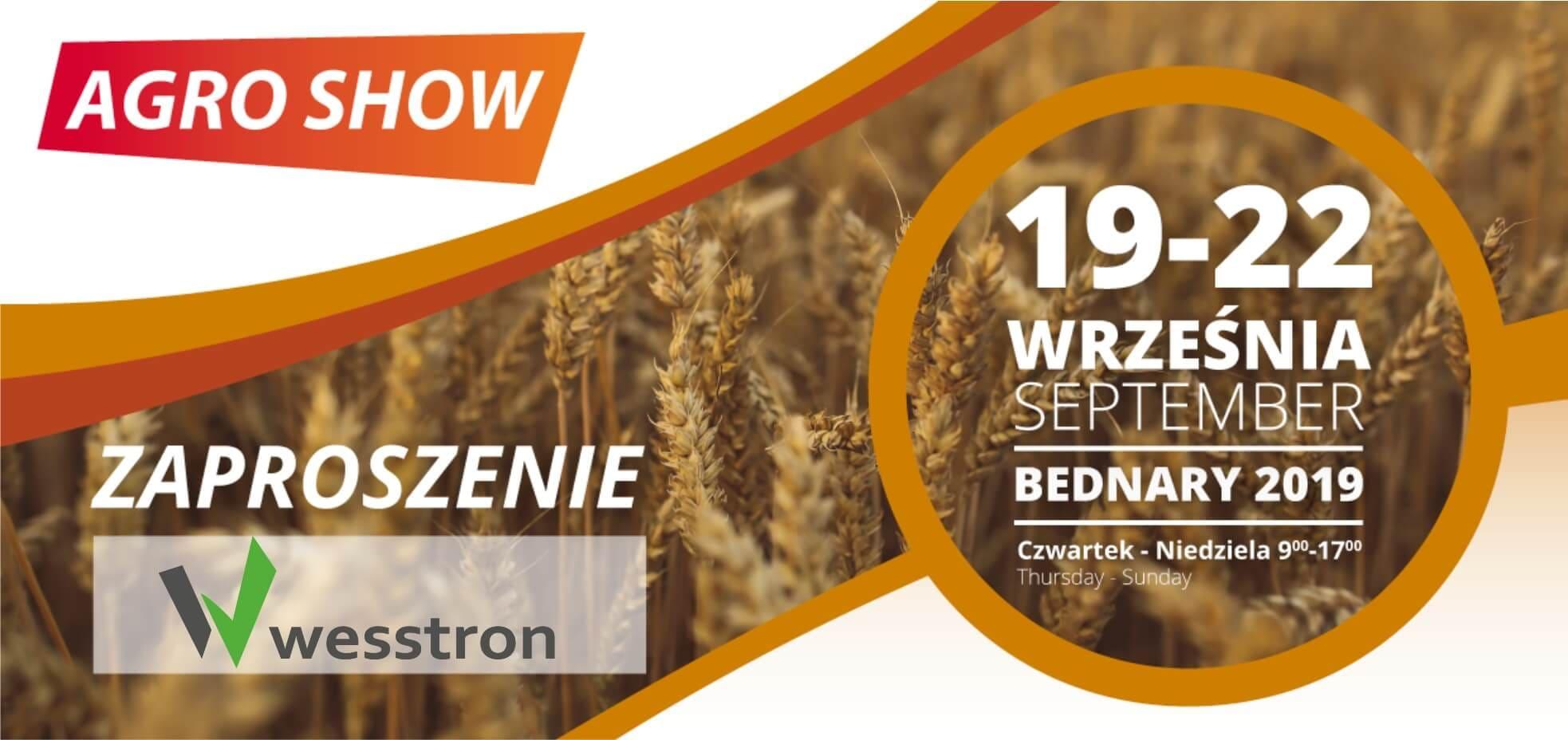 ZAPRO - AgroShow 2019 - Zaproszenie